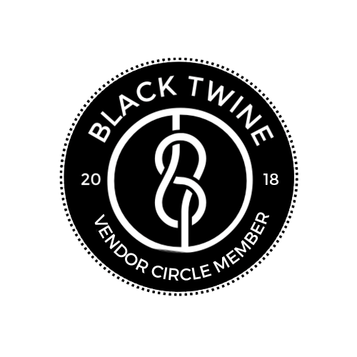 Black Twine Vendor Circle 2018 Logo (Transparent)